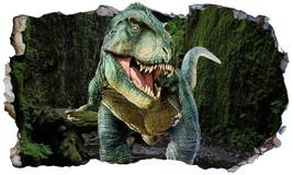 Dinosaur T Rex Tyrannosaurus Rex Magic Window Wall Art Self Adhesive Sti... - $15.13+