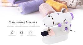 Mini Electric Handheld Sewing Machine Dual Speed Adjustment Light Foot D... - $21.00+