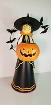 Partylite Halloween Abracadabra Witch Black Orange #1039395610 - $24.74