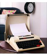 Fully Functioning Vintage Brother Deluxe 750Tr Plastic Typewriter with Ribbon an - $404.00