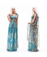Game Of Thrones Daenerys Targaryen Cosplay Costume Halloween Costume - $49.15