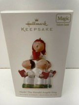 "Hallmark ""Hark The Herald the Angels Sing"" Children's Choir Magic Orname... - $11.83"