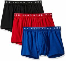 Hugo Boss Men's Natural Pure Cotton 3 Pack Underwear Boxers Trunks 50325383 image 6