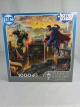 DC Justice League Batman Thomas Kinkade 1000 Piece Jigsaw Puzzle New Sealed Box - $32.50