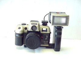 Vintage Olympia EL-1124 Red Eye Reduction 35 mm Camera and Flash - $24.74