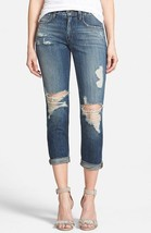 Joe's 'Billie' Japanese Denim Crop Jeans, Size 28 - Blue (Rika) MSRP: $172 - $91.62