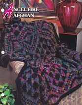 Angel Fire Afghan, Annie's Crochet Quilt & Afghan Pattern Club Leaflet 2... - $14.95