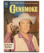 Gunsmoke #27 1961-Dell-James Arness TV photo-Last issue- NM- - $200.06