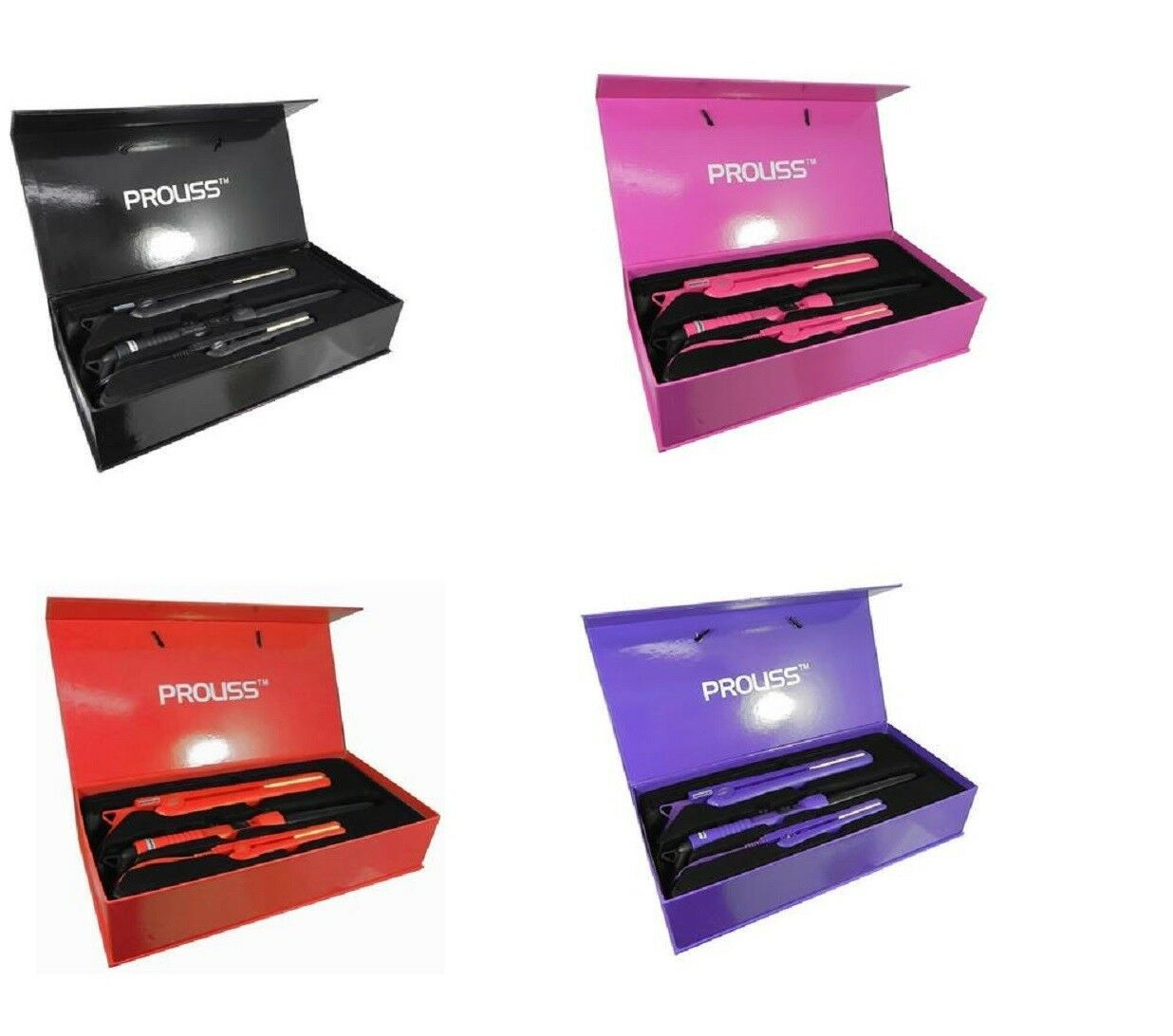 Primary image for Proliss Infusion Complete Full Set Hair Straightener + Curling Iron + Min Iron