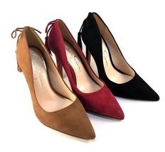 Jessica Simpson Centella Suede Leather Pointy Dress Pumps - Choose Sz/Color - $79.00