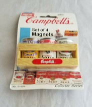 1995 Campbell's Soup Can Crate Refrigerator Magnets NIP  NOS Arjon - $9.20