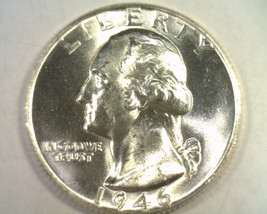 1946 WASHINGTON QUARTER CHOICE / GEM UNCIRCULATED+ CH. / GEM UNC.+ NICE ... - $27.00