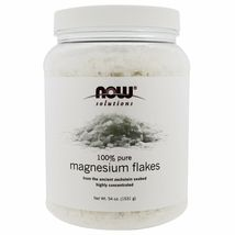 Now Foods Solutions Magnesium Flakes, 3.37 lbs (1531 g) - $25.99