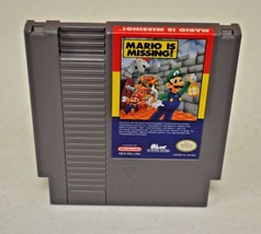 Mario is Missing (Nintendo, 1993) TESTED NES Authentic Luigi - $24.74