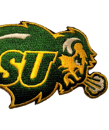 North Dakota State University Bison Embroidered Patch Sew / Iron-on Backings - $7.95 - $10.99