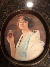 Coca Cola Vintage Metal Serving Tray 1973 Coke Antique Advertising - $10.49
