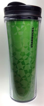 Starbucks Coffee Travel Tumbler Cup Mug Green Holographic Stars 2011 16 ... - $18.95
