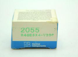 Potter & Brumfield R40E3X4-V200 12VDC Relay New - $98.00