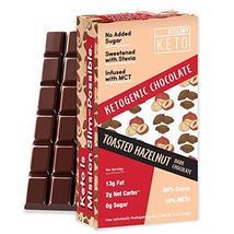 Kiss My Keto Low Carb Keto Chocolate, Toasted Hazelnut Keto Snack (4x3oz... - $24.99