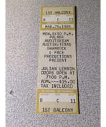 Julian Lennon Ticket Stub Unused 1985 - $12.86