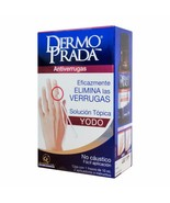 Dermo Prada Iodine/Yodo Antiverrugas Effectively Removes Warts 10 ml - $28.70