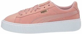 PUMA PLATFORM SHIMMER Morning Glory / White Women's Sneakers 369593-01 - £62.91 GBP