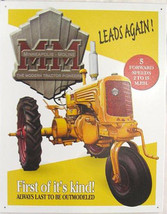 Minnie Moline Farming Tractor Farm Equipment Metal Sign - $20.95