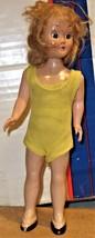 Doll - Vintage 1950's Plastic Doll - $10.00