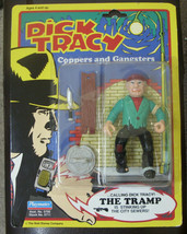 dick tracy Steve The Tramp Coppers & Gangsters  Action Figure 1990 RECAL... - $25.00