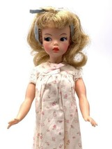 Vintage Ideal Tammy Doll BS-12 3 1960's Light Golden Brown Hair Nightgow... - $118.80