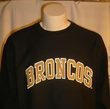Western Michigan University Sweatshirt UniSex Adults Small Broncos NCAA - $39.95