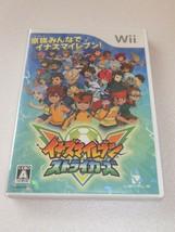 "Nintendo Wii ""Inazuma Eleven Strikers"" - Game - Import JAPAN - $8.99"