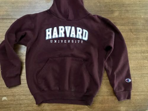 Primary image for harvard university hoodie Youth size 8 Champion Brand