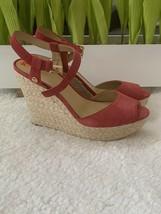 Michael Kors Wedge Sandals Size 9.5 - $33.00