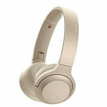 SONY WH-H800 h.ear on 2 Mini Wireless Bluetooth Hi-Res Headphones Pale Gold New - $148.01