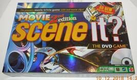 2007 Screenlife Movie 2nd Edition Scene it DVD Board Game 100% COMPLETE - $14.03