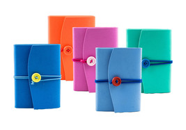Medioevalis Neoprene Journal, Multicolor, A6, H13xL9, Neo Collection - $15.75