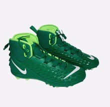 NIKE Force Savage Varsity 2 Mid Football Linemen Cleats Green 男装s size 14 NEW - $37.39