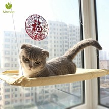 Safe Hanging Cat Bed Mat Shelf Seat Soft Comfortable Hammock Window Moun... - $19.79