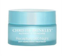 Christie Brinkley Recapture 360 Anti Aging Night Treatment 1oz 30ml Fres... - $38.77