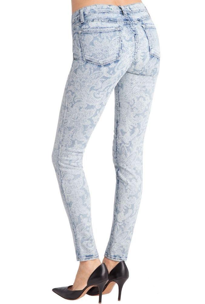 J Brand Vintage Bandana Super Skinny Leg Ankle Jeans $198 24 00 0 image 2