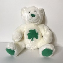 Build A Bear Workshop Teddy Bear Plush Clover Shamrock St Patricks Day 1... - $34.65