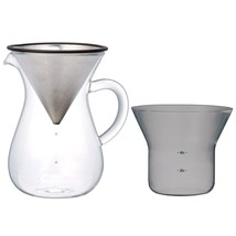 1.1 Liter Kinto Carafe Coffee Set with Strainer No Need for Paper Filters - $44.54