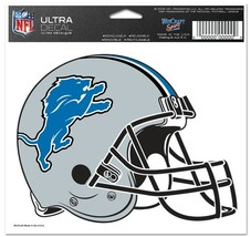 Detroit Lions Decal 5x6 Multi Use Color**Free Shipping** - $12.45