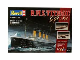 Revell Modellbausatz Schiff 1:700&1:1200 - Geschenkset R.M.S  (1/700&1/1... - $35.53