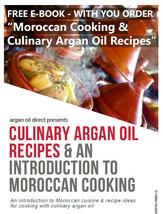 Culinary Argan Oil 800ml for Eating -  800ml / 28 fl oz - $80.51