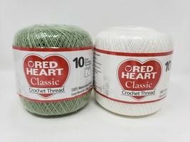 Red Heart Classic Crochet Thread - New - $8.49