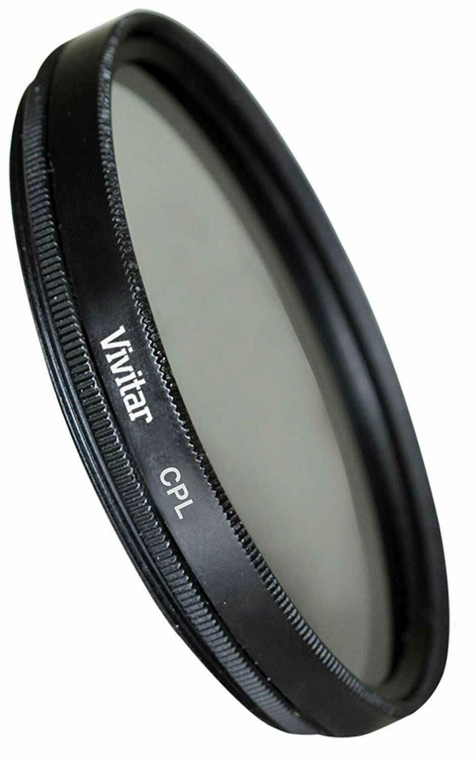 Primary image for Vivitar CPL Circular Polarizer Glass Filter 55mm