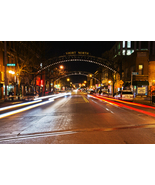 "Columbus, Ohio Nighttime City Photography Wall Decor Print - ""Chasing Tr... - $110.00"