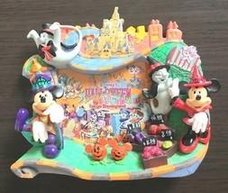 2011 Tokyo Disneyland Halloween Photo Frame stand Mickey Minnie Japan pumpkin - $66.33